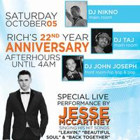 Rich's 22 Year Anniversary Party with Jesse McCartney