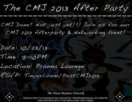 The CMJ 2013 After Party