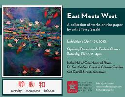 East Meets West: Terry Sasaki Exhibit Opening