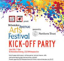 Milwaukee Avenue Arts Festival Kick-Off Party
