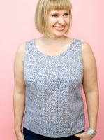Simple sleeveless top-A Beginner's dressmaking class