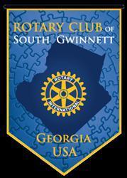 The Rotary Club of South Gwinnett logo