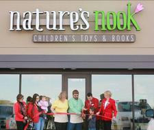 Nature's Nook Children's Toys & Books logo