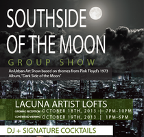 Southside Of The Moon  -  Group Art Show
