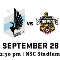 SA Scorpions Watch Party vs Minnesota United