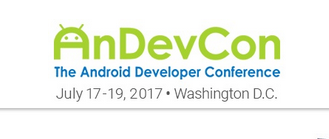 SALE: AnDevCon - The Android Developer Conference - Washington, DC, July 17-19, 2017