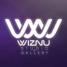 WIZNU Studio+Gallery logo