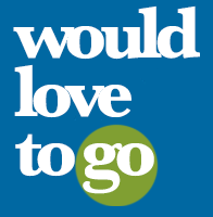 Would Love To Go logo