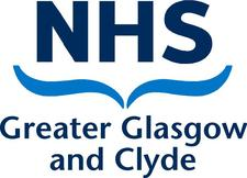 Heather Sloan Greater Glasgow and Clyde NHS logo