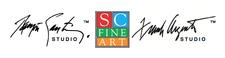 SC Fine Art/Ramón Santiago Studio/Frank Argento Studio logo