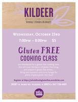 Gluten Free Cooking Class