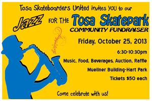 Jazz for the Tosa Skatepark