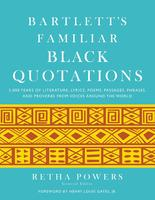 """Bartlett's Familiar Black Quotations"" Book Signing..."