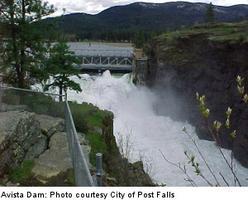 Avista's Post Falls Dam Tour 10/18/13 at 10 am