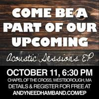 Andy Needham Band EP Video & Recording Night