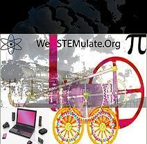 We STEMulate.Org & Reel Street Talk Entertainment (RSTE) logo