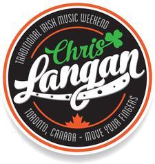 Chris Langan Irish Music Association logo