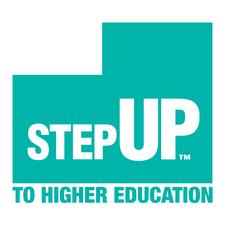 Step Up to Higher Education Utah + UHEAA logo