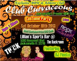 Club Curvaceous BBW Halloween Costume Party