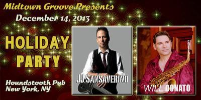 J.J. SANSAVERINO & WILL DONATO Holiday Party