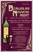 Beaujolais Nouveau 2013 - A Night Of Wine and...
