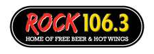 Rock 106.3 logo