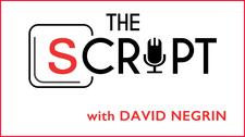 THE SCRIPT Podcast with David Negrin logo