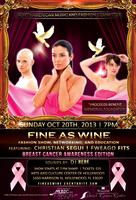 Fine As Wine: Breast Cancer Month Dedication