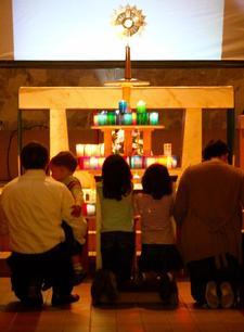 Most Blessed Sacrament Parish logo