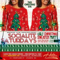 THIS SAT :: UGLY XMAS SWEATER PARTY (LADIES FREE TIL...