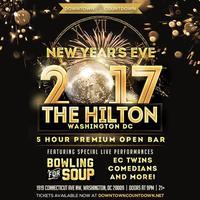 Down Town Count Down NYE GALA | 5hr Premium Open Bar