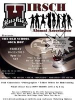 Hirsch High School Sock Hop Fundraiser