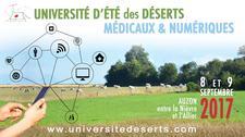 Université d'été des déserts numériques et médicaux logo