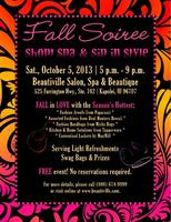 Fall Soiree - Shop, Spa & Sip in Style