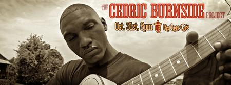 Cedric Burnside Project w/ The Jugtime Ragband