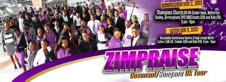 ZimPraise Covenant/Sungano UK Tour-Luton