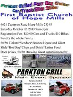 Parkton Grilled Poor Boyz Cruiser Fall Festival Car Show