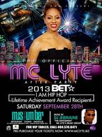 AFTER PARTY with MC LYTE, OFFICIAL HOST SEPT 28 2013 -...