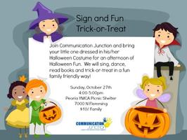 Sign and Fun - Trick-or-Treat