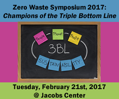 Zero Waste Symposium 2017: Champions of the Triple...