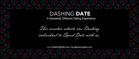 Speed Dating Gift Voucher (Vancouver and Calgary)