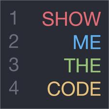 Show Me The Code Meetup logo