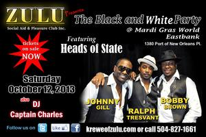 Zulu presents  Bobby Brown, Johnny Gill & Ralph Tresvant...