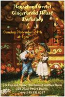 Hansel and Gretel Gingerbread House Workshop