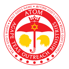 Agape TEAS Outreach Ministries (ATOM) logo
