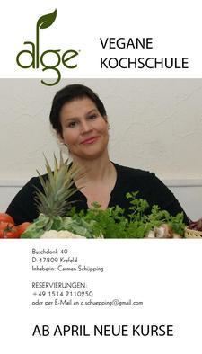 Alge vegane Kochschule Carmen Schüpping logo