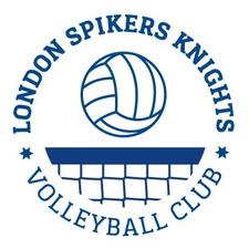 London Spikers Knights Volleyball Club logo