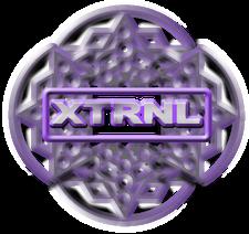 XTRNL Music logo