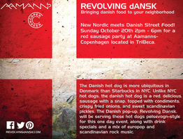 Danish Red Sausage Event Hosted by Revolving Dansk