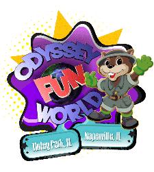 Odyssey Fun World logo